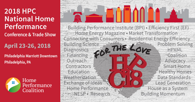 2018 HPC National Home Performance Conference Trade Show